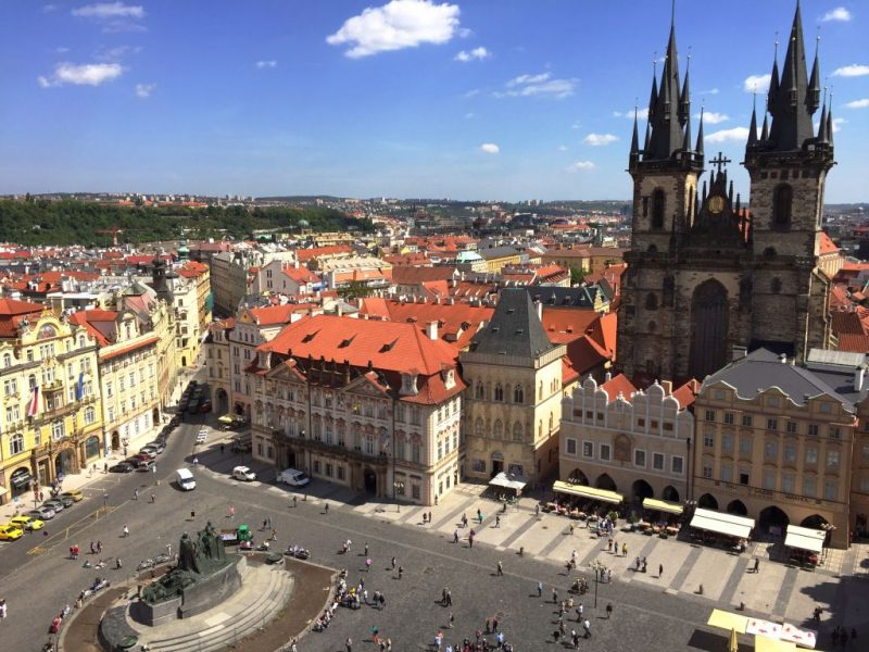 Old Town Square, Prague - Global Storybook