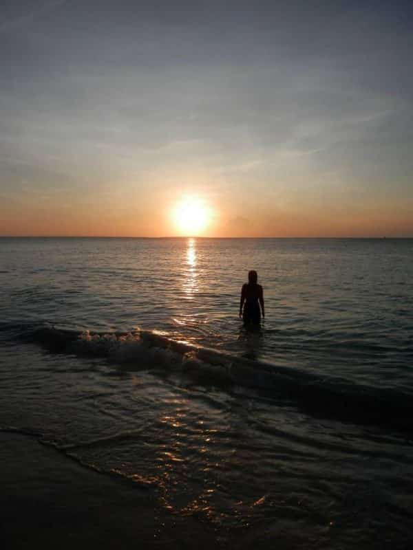 Staring at the Sun - Nungwi Beach - Zanzibar