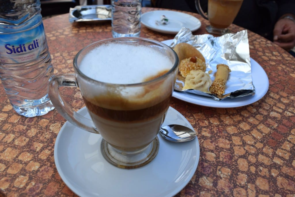 Coffee in Rabat, Morocco