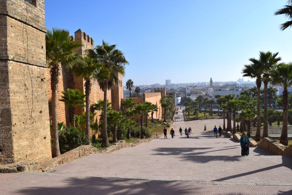 Kasbah of the Udayas, Rabat, Morocco