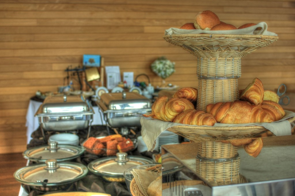 Breakfast Spread - Graciosa Resort & Business Hotel, Graciosa, Azores, Portugal.