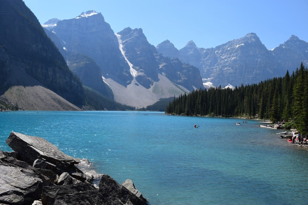 Moraine Lake, Alberta, Canada - Global Storybook