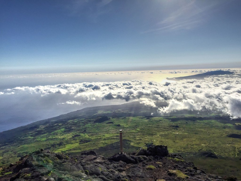 View from Pico Volcano