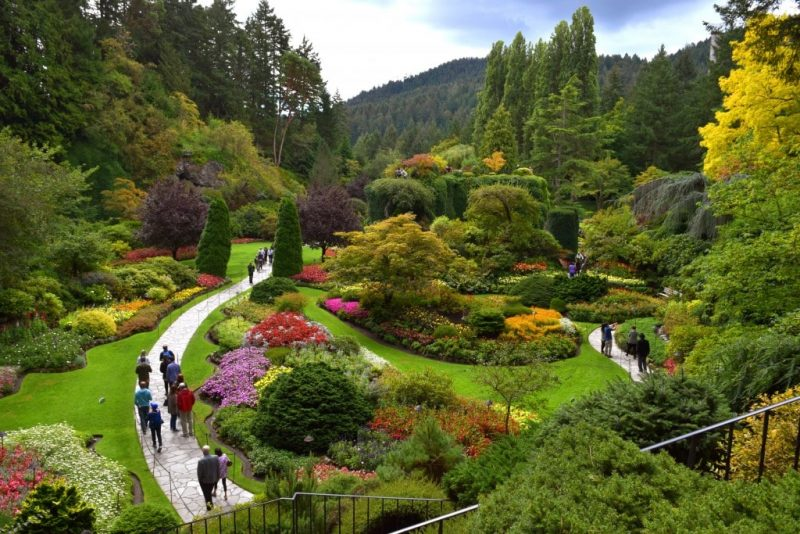 Butchart Gardens - Global Storybook