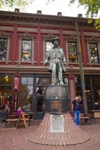 Gassy Jack Statue, Vancouver - Global Storybook