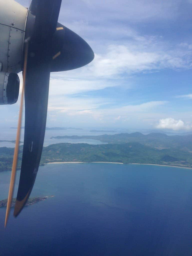 Arriving at El Nido