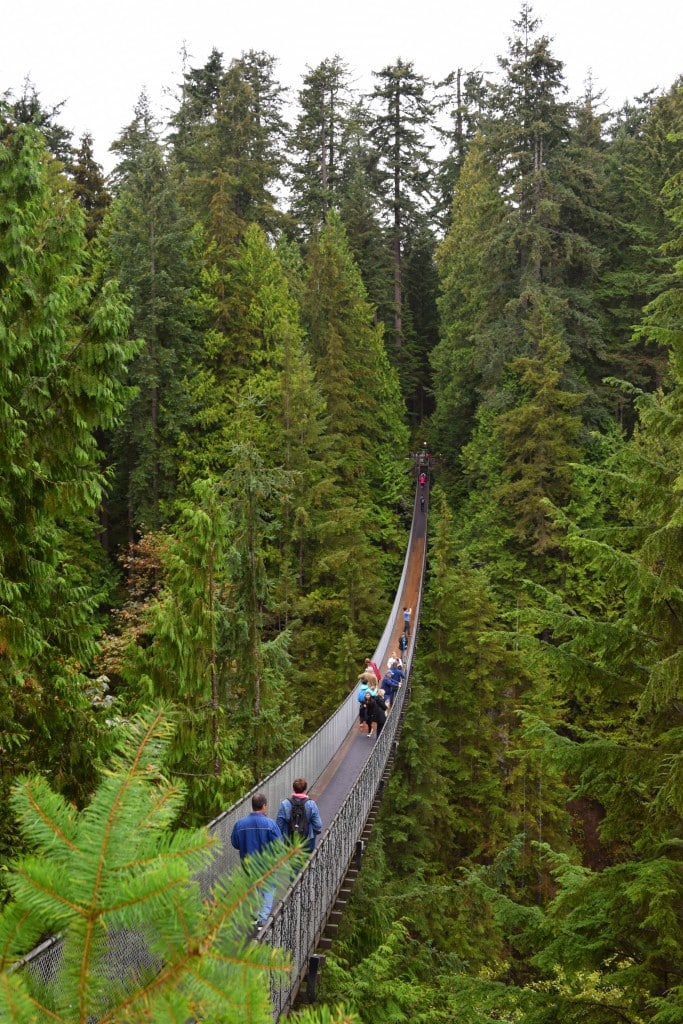Capilano Suspension Bridge Park, Vancouver, Canada