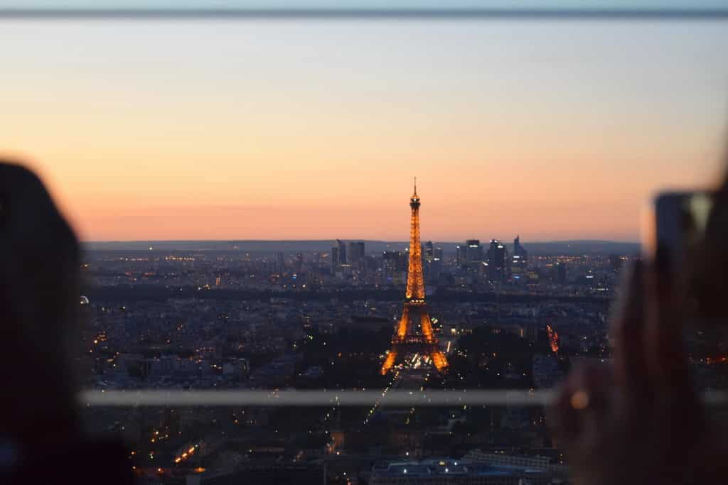 Tour Montparnasse top views