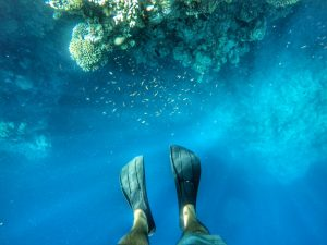Diving in Dahab