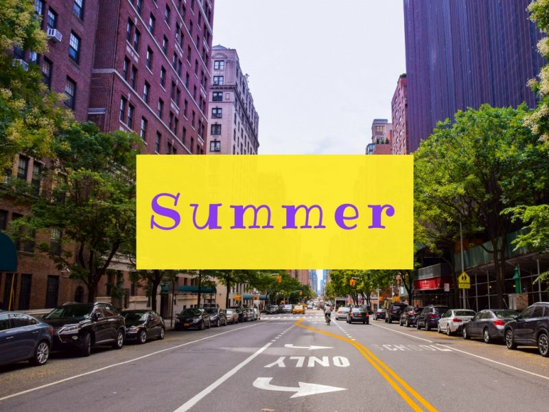 NYC in Summer - Global Storybook