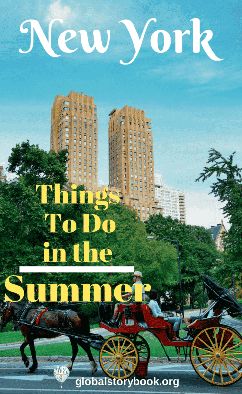 New York in Summer - Things to do, Global Storybook