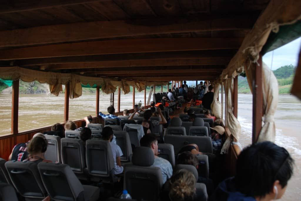 Seating on the Long Boat