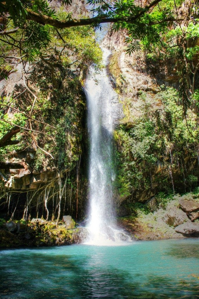 Waterfall Oasis at Rincón de la Vieja Volcano National Park