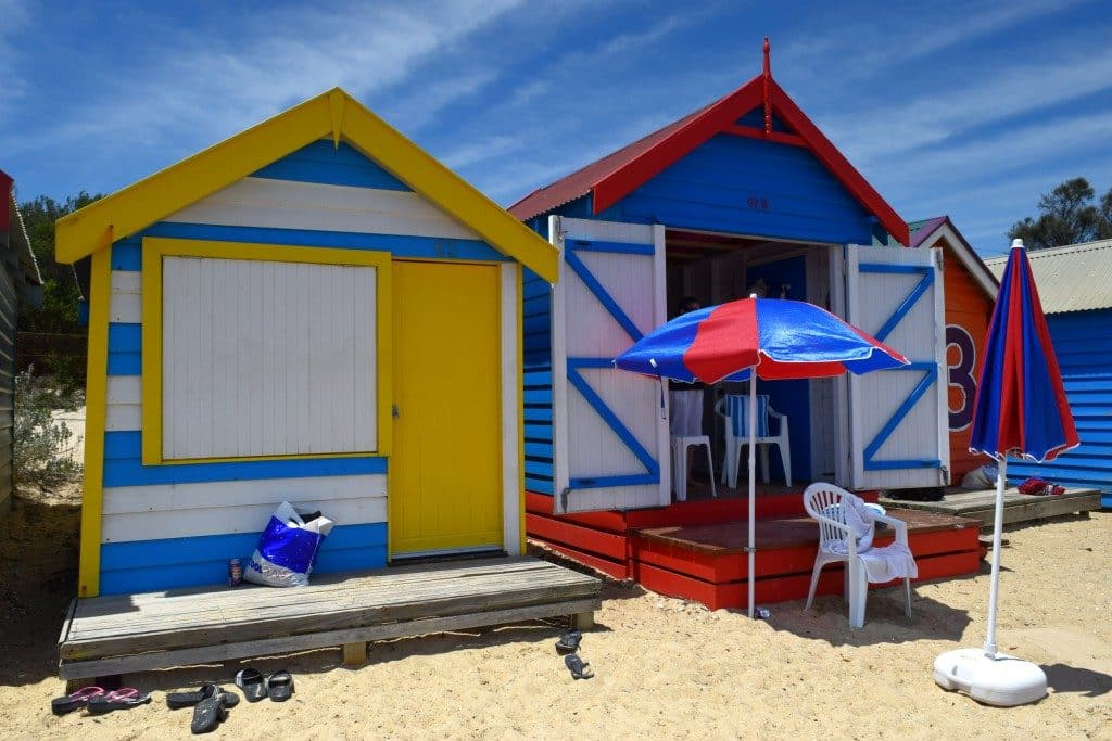 Brighton Bathing Boxes, Melbourne, Australia - Global Storybook