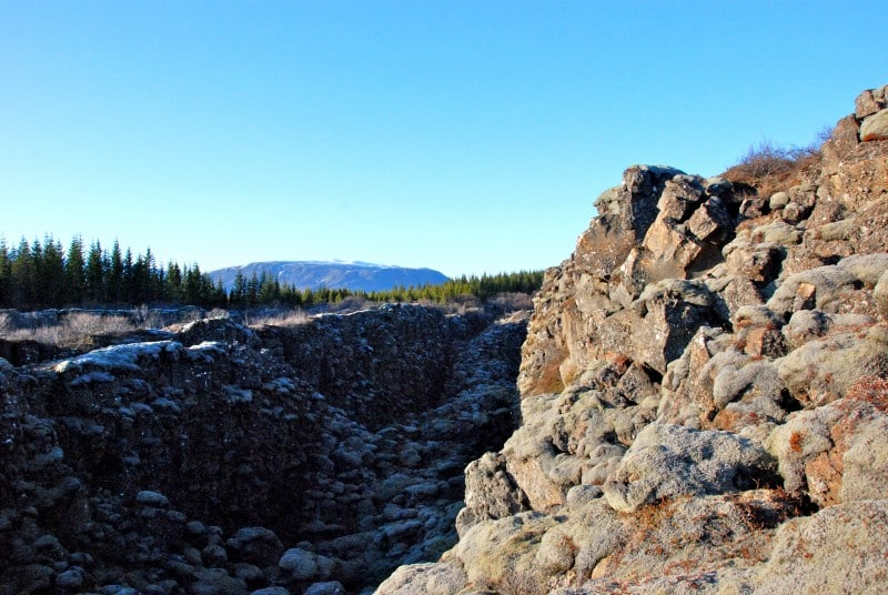 Craggy Volcanic Rocks
