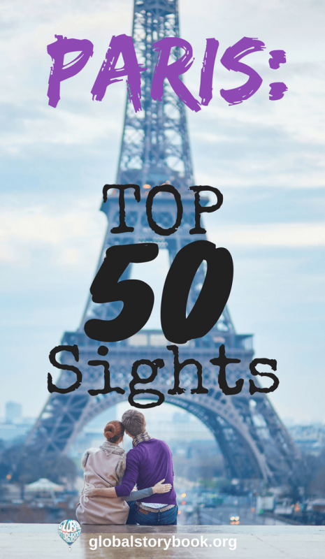 Paris Top 50 Sights - Global Storybook
