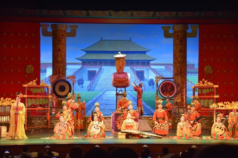Tang Dynasty Show, Xi'an - Global Storybook