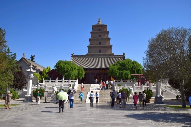 Big Wild Goose Pagoda, Xi'an - Global Storybook