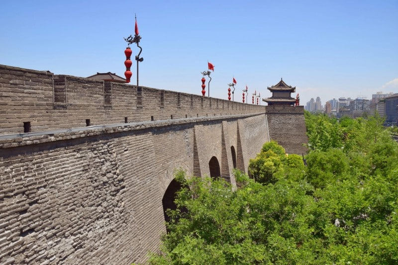 City Wall, Xi'an - Global Storybook
