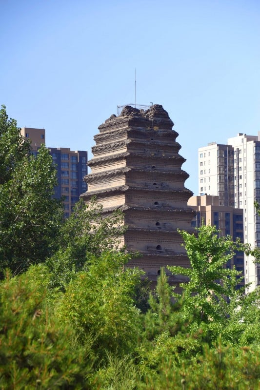 Small Wild Goose Pagoda, Xi'an - Global Storybook