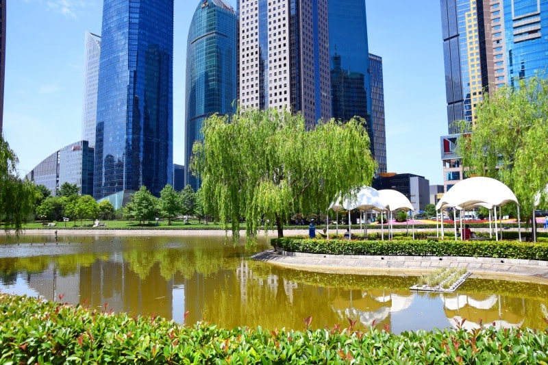 Lujiazui Central Green Space, Shanghai, China - Global Storybook