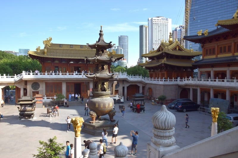 Jing'an Temple and Park, Shanghai, China - Global Storybook