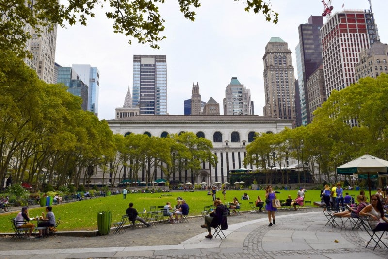 Bryant Park, New York City - Global Storybook