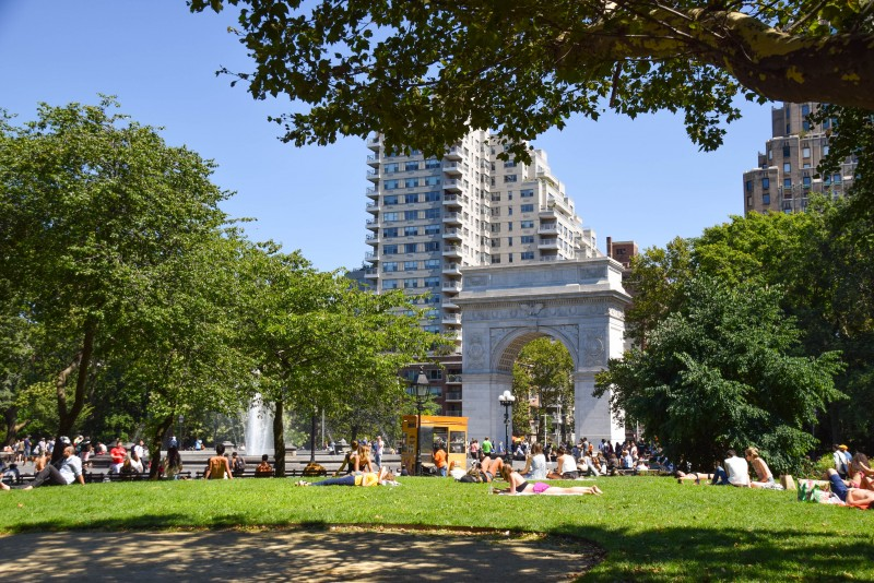 NYU, Washington Square Park, New York - Global Storybook