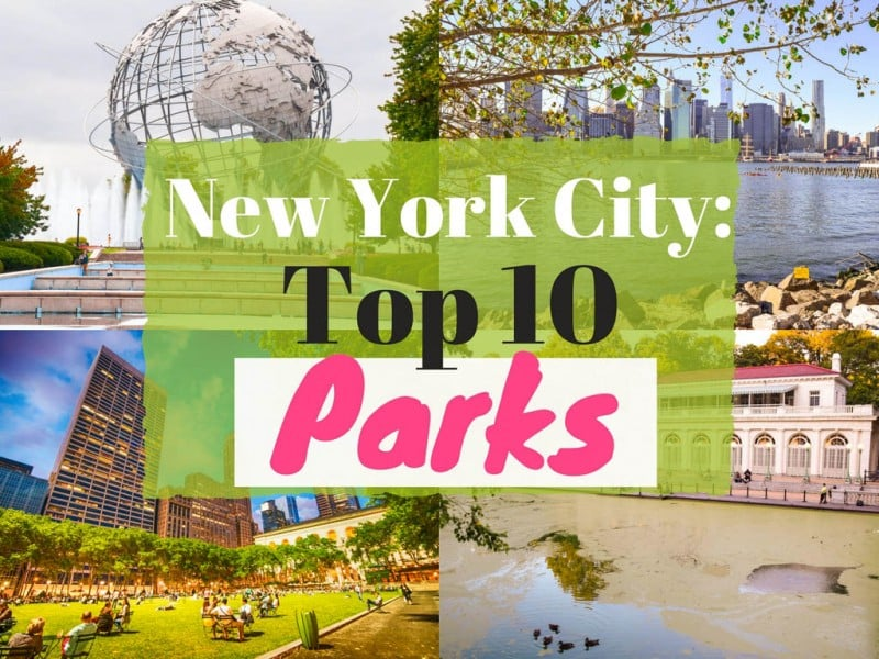 New York City - Top 10 Parks - Global Storybook