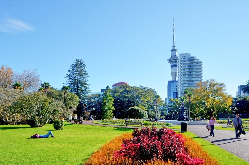 Albert Park, Auckland - Global Storybook