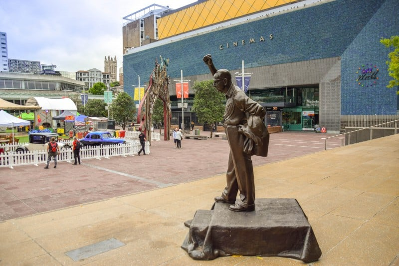 Aotea Square, Auckland - Global Storybook