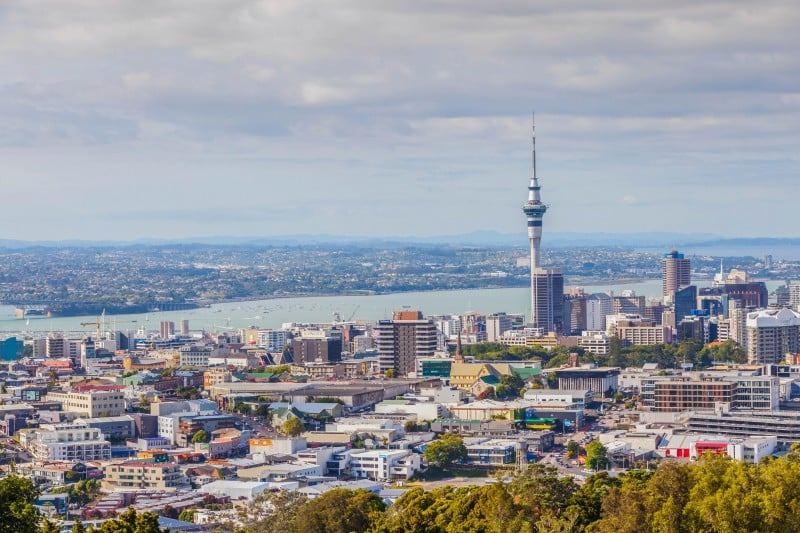 Auckland, New Zealand - Global Storybook. Photo © mrcmos/Shutterstock.com