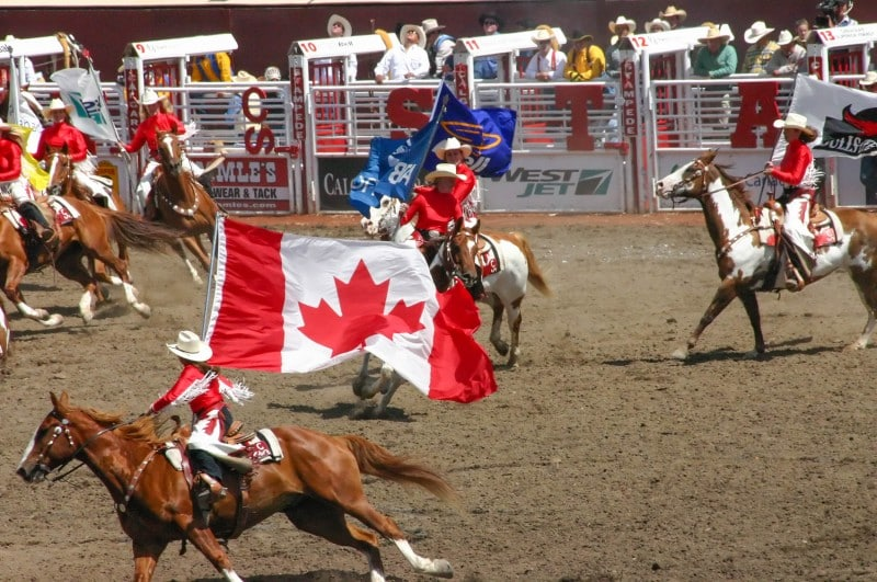 Calgary Stampede, Canada
