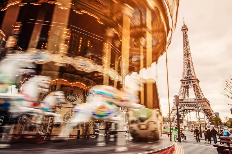 Carousel Eiffel Tower, Paris - Global Storybook