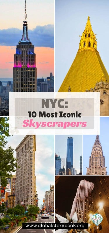 New York City - 10 Most Iconic Skyscrapers - Global Storybook