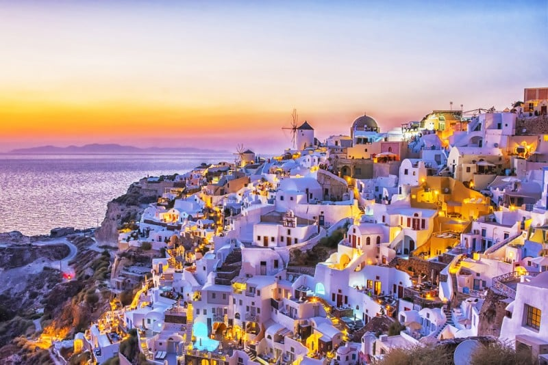 Santorini, Greece - Global Storybook