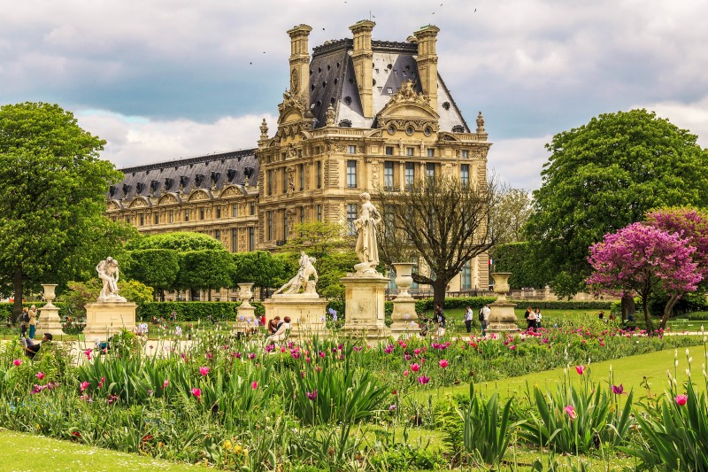 Jardin des Tuileries, Paris - Global Storybook