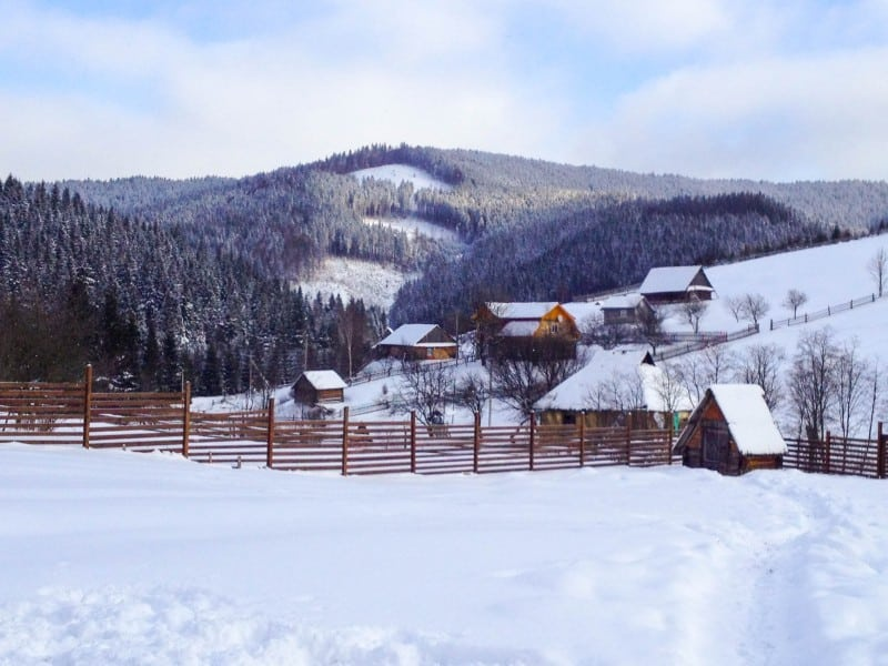 Ukrainian Carpathian Mountains - Global Storybook