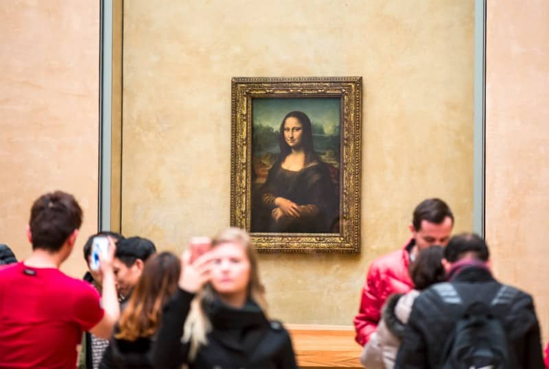 Mona Lisa, Louvre - Global Storybook