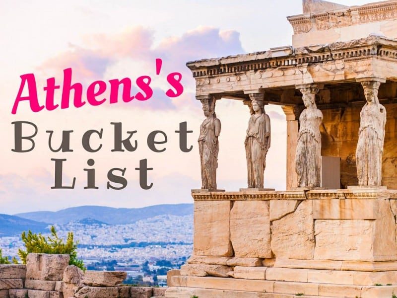 Athens's Bucket List: 20 Things You Shouldn't Miss cover - Global Storybook