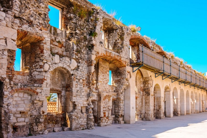 Diocletian's Palace, Croatia - Global Storybook
