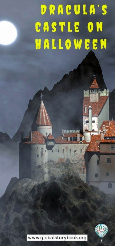 Dracula's Castle on Halloween - Global Storybook