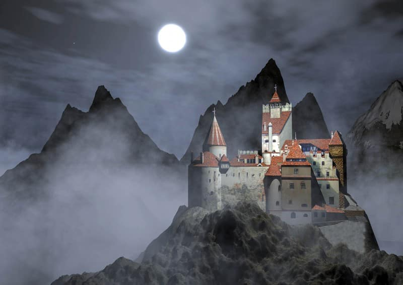 Dracula Castle on Halloween, Romania - Global Storybook