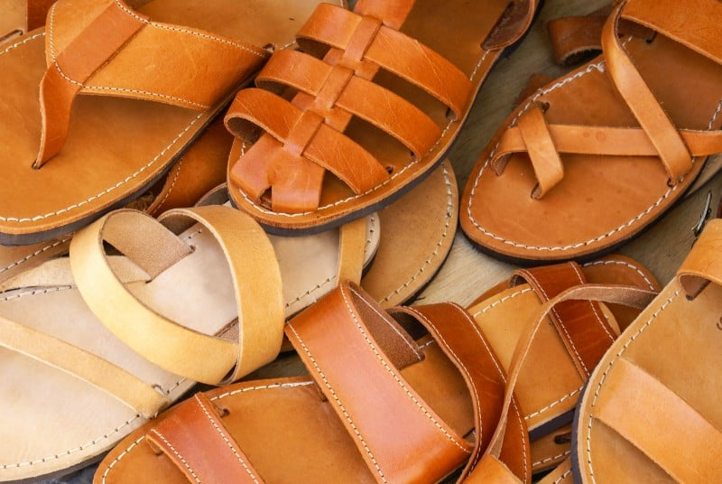 Greek sandals, Athens, Greece - Global Storybook