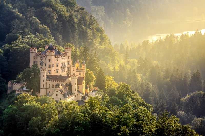 Castle Hohenschwangau, Germany - Global Storybook