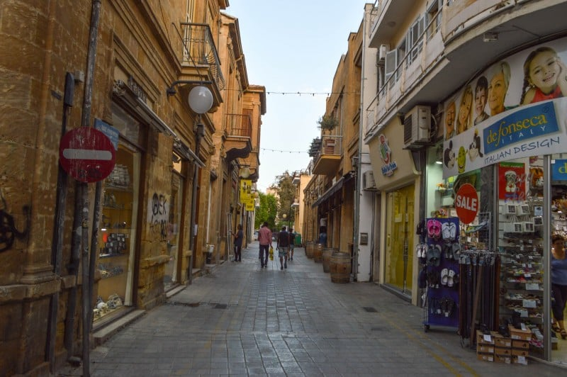 Ledras Greek part, Nicosia, Cyprus - Global Storybook