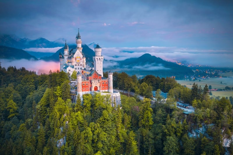 Castle Neuschwanenstein, Germany - Global Storybook
