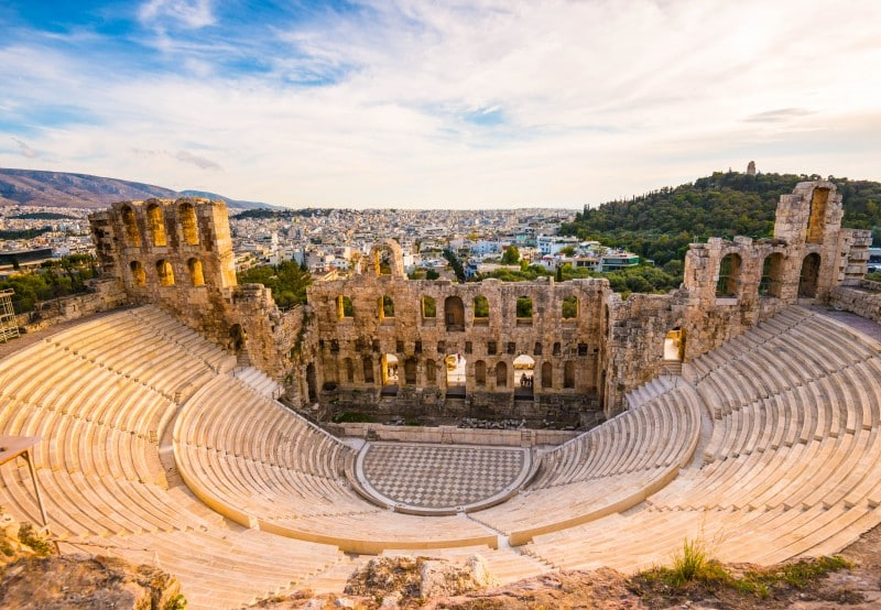 Odeon of Herodes Atticus, Athens, Greece - Global Storybook