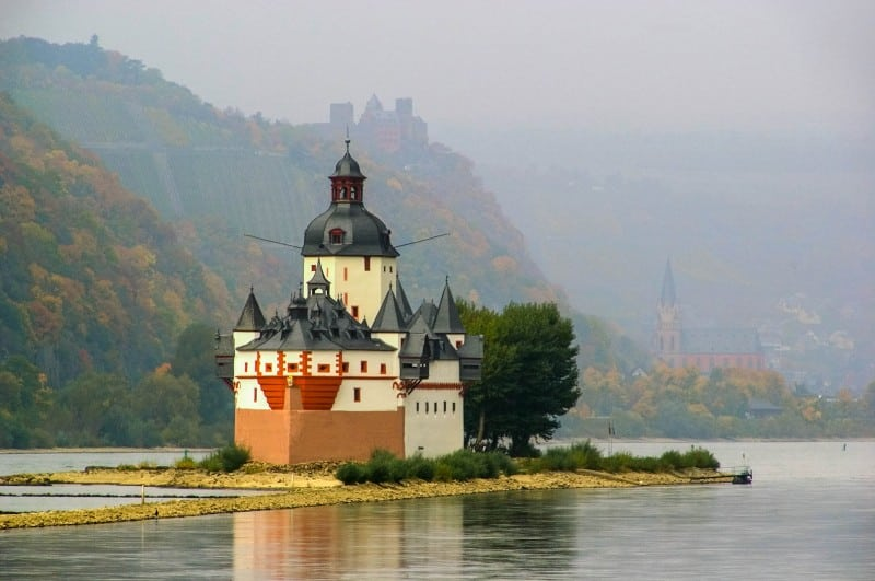 Castle Pfalzgrafenstein, Germany - Global Storybook