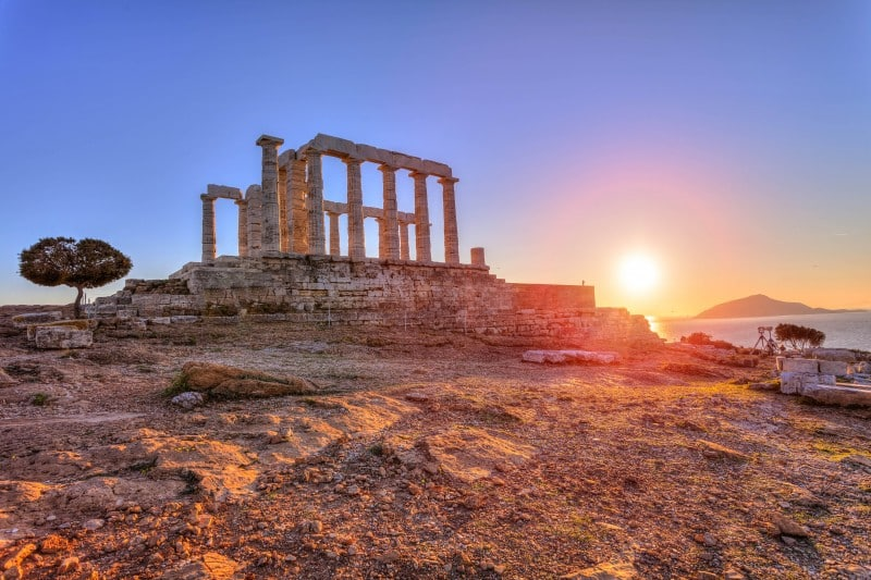 Temple of Poseidon, Athens, Greece - Global Storybook